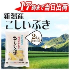 お米 2kg 特別栽培米新潟産こしいぶき2kg(送料別) 30年産
