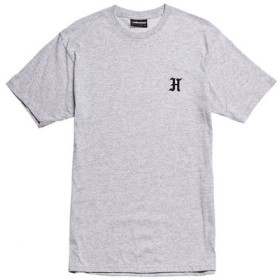 【THE HUNDREDS/ザ・ハンドレッツ】OH H SOFT FIT T-SHIRT / ATHLETIC HEATHER