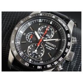 セイコー SEIKO クロノグラフ アラーム 腕時計 SNAE35P1