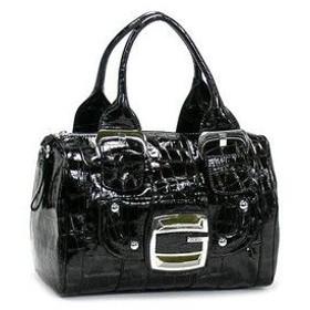 ゲス GUESS ショルダーバッグ LEILANI CR240829 LARGE BOX BAG BLACK BK