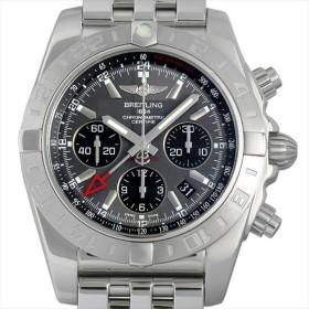 48回払いまで無金利 ブライトリング クロノマット44 GMT A042F61PA(AB0420) 中古 メンズ 腕時計