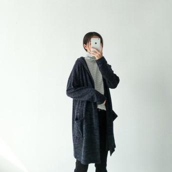ロングカーディガン カーディガン ニットカーディガン カーデガン カーデ レディース ロングニット 冬 大きいサイズ あったか 暖かい 女の子 長袖
