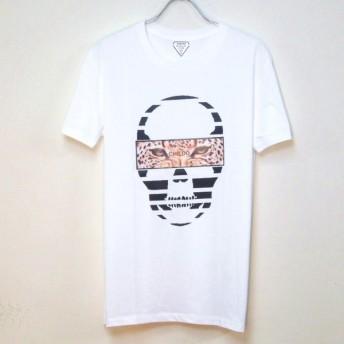 Skull Panther T-shirt  white