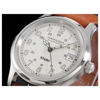 ハミルトン HAMILTON 腕時計 カーキ フィールド オート H60415513
