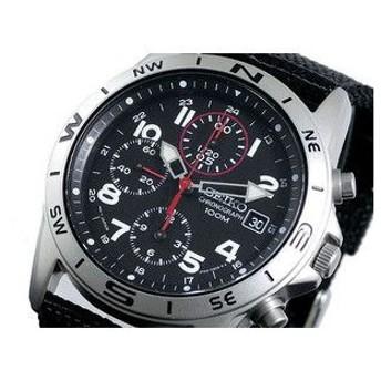 セイコー SEIKO 腕時計 メンズ クロノグラフ SND399P