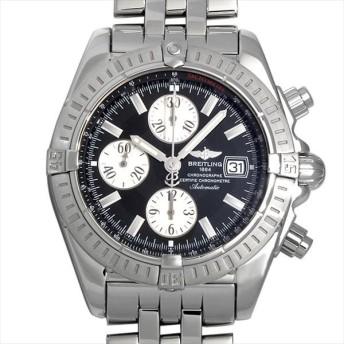48回払いまで無金利 ブライトリング クロノマット エボリューション A156B19PA(A13356) 中古 メンズ 腕時計