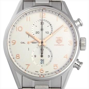 48回払いまで無金利 タグホイヤー カレラ キャリバー1887 クロノグラフ CAR2012.BA0796 中古 メンズ 腕時計