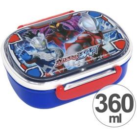 お弁当箱 小判型 ウルトラマンジード 360ml 子供用 キャラクター 日本製 ( 弁当箱 ランチボックス 食洗機対応 )