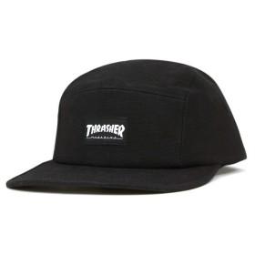 スラッシャー キャップ ブラック 帽子 5 PANEL CAP BLACK メンズ