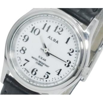 セイコー SEIKO アルバ ALBA ソーラー レディース 腕時計 AEGD528 ホワイト