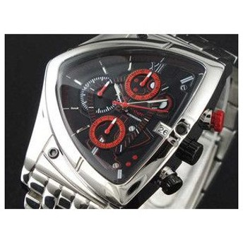 コグ COGU 腕時計 アシンメトリー クロノグラフ C43M-BRD レッド