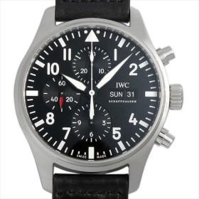 48回払いまで無金利 IWC パイロットウォッチ クロノグラフ オートマティック IW377709 新品 メンズ 腕時計