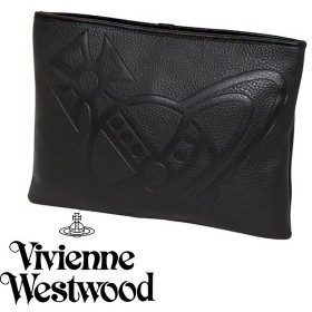 Vivienne Westwood フェイクレザークラッチバッグ