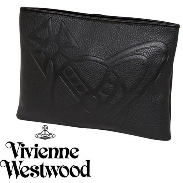 Vivienne Westwood フェイクレザークラッチバッグ