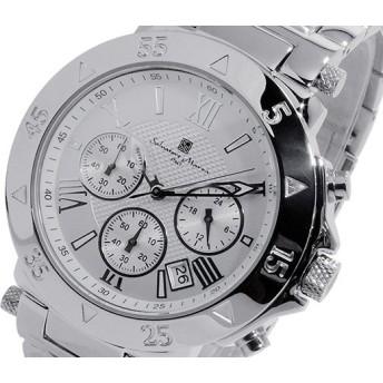 サルバトーレマーラ クオーツ メンズ クロノ 腕時計 SM8005SS-SSWHSV
