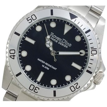 ロマンディーノ ROVEN DINO クオーツ メンズ チェンジべゼル 腕時計 RD3269-2