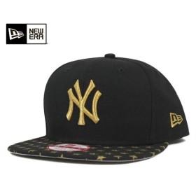 ニューエラ スナップバックキャップ スターリー ニューヨーク ヤンキース ブラック 帽子 [返品・交換対象外]