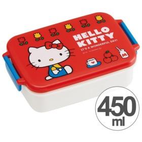 ■在庫限り・入荷なし■お弁当箱 角型 ハローキティ 70年代 450ml 子供用 キャラクター ( タイトランチボックス 食洗機対応 仕切り付 )