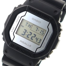 カシオ CASIO Gショック G-SHOCK ピガール PIGALLE ユニセックス 腕時計 時計 DW-5600PGB-1 ミラー/ブラック 代引不可