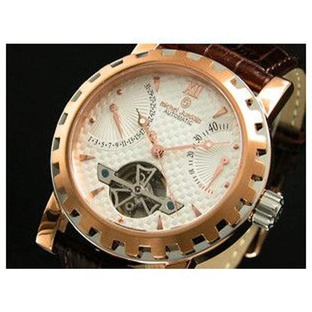 ミシェルジョルダン 腕時計 自動巻き パワーリザーブ EG5320-4