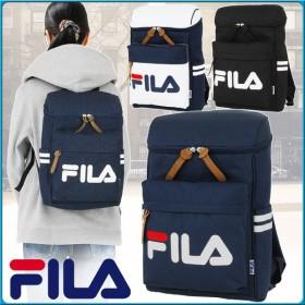 フィラ FILA リュックサック ボックス型 スクエア デカロゴ 全4色 20リットル デイパック バックパック スターリッシュ 男子 女子 可愛い スクールバッグ 7490