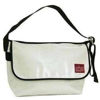 マンハッタンポーテージ manhattan portage ショルダーバッグ 1607v-vl wht vinyl vintage mess bag(lg)