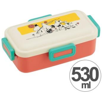 お弁当箱 ムーミン パレット ふんわり弁当箱 1段 530ml ( 弁当箱 ランチボックス ドーム型 )