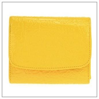 Folli Follie フォリフォリ 60サイズ WA0L026SY-YEL 二つ折り財布