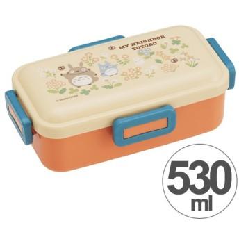 お弁当箱 となりのトトロ フラワー ふんわり弁当箱 1段 530ml ( 弁当箱 ランチボックス ドーム型 )