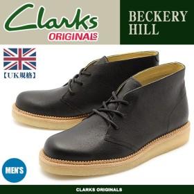 クラークス CLARKS ブーツ ベッカリー ヒル ブーツ メンズ 革靴