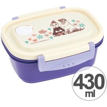 お弁当箱 タイトフードコンテナー S ムーミン お花畑 430ml ( 食洗機対応 電子レンジ対応 保存容器 )