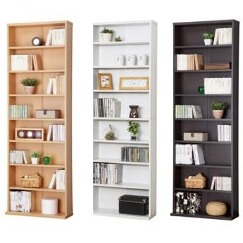 ■在庫限り・入荷なし■本棚 薄型 ブックシェルフ 文庫書棚 幅60cm