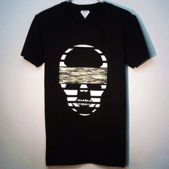 Skull camouflage Black