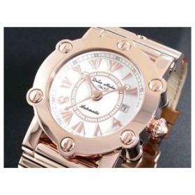 ドルチェ メディオ 腕時計 自動巻き DM10013-PGWH/BR