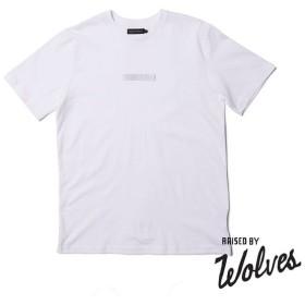 【RAISED BY WOLVES/レイズドバイウルブス】3M BOX LOGO T-SHIRT Tシャツ / WHITE
