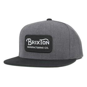 ブリクストン スナップバックキャップ グレード チャコールヘザー 帽子