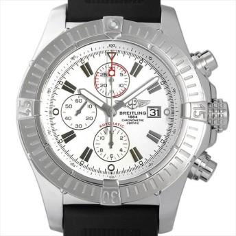 48回払いまで無金利 ブライトリング スーパーアベンジャー クロノグラフ A337A60ORC(A13370) 中古 メンズ 腕時計