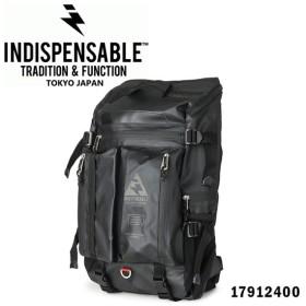 インディスペンサブル INDISPENSABLE リュック 17912400 BUSTLE Type2  リュックサック デイバッグ バックパック リュック コーティング加工 メンズ [PO10]