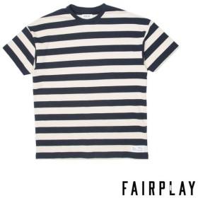 【FAIRPLAY BRAND/フェアプレイブランド】DERYK カットソーTシャツ / NAVY