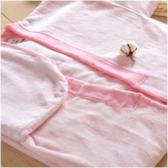 毛布・かいまき・日本製 シール織綿100%夜着毛布 東京西川 西川産業 夜着毛布MD6400 日本製
