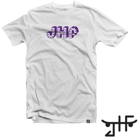 【JUST HAVE FUN/ジャストハブファン】BRICK BY BRICK TEE Tシャツ / WHITE