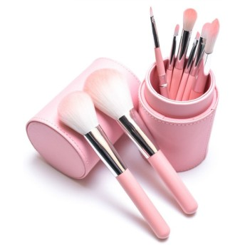 メイクブラシ 10本セット ケース付き 化粧ブラシ 化粧筆 コスメブラシ ふで メイクアップブラシ おしゃれ かわいい レディース 女性 化粧 メイク