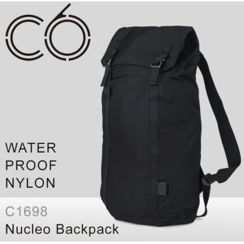 シーシックス C6 リュック C1698 WATERPROOF NYLON 防水 ナイロン Nucleo Backpack リュックサック デイパック バックパック ビジネスリュック メンズ [PO10]