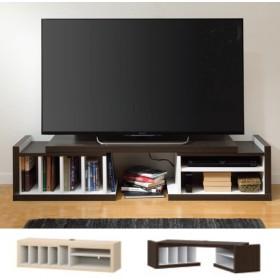 ■在庫限り・入荷なし■テレビ台 伸縮型 テレビボード ブローブ 幅126〜160cm
