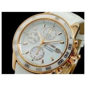 セイコー SEIKO スポーチュラ クロノグラフ 腕時計 SNDX98P1 ホワイト