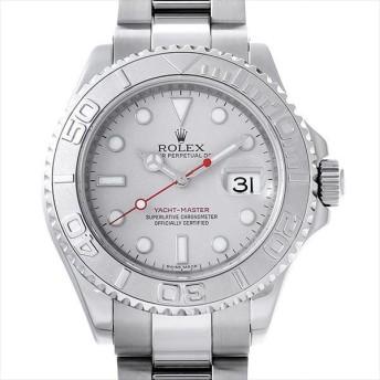 48回払いまで無金利 ロレックス ヨットマスター ロレジウム 16622 シルバー F番 中古 メンズ 腕時計