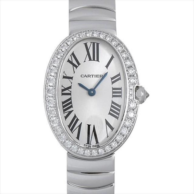 1bd34b3d67 48回払いまで無金利 カルティエ ベニュワール WB520006 中古 レディース 腕時計