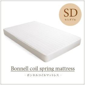 マットレス セミダブル ボンネルコイル 寝具 布団 ベッド ボンネルコイルマットレス セミダブルサイズ