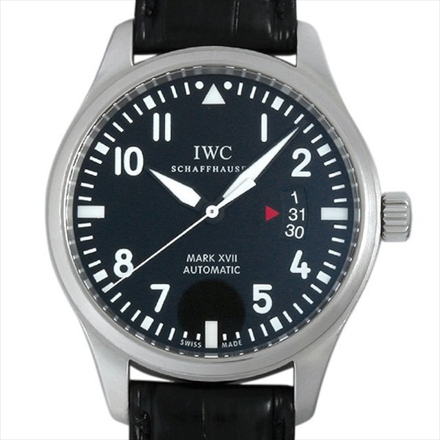 48回払いまで無金利 SALE IWC マーク17 マークXVII IW326501 中古 メンズ 腕時計 キャッシュレス5%還元