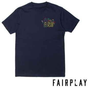 【FAIRPLAY BRAND/フェアプレイブランド】TIKI Tシャツ / NAVY